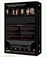 Game of Thrones: The Complete 4th Season DVD Series (5 discs)
