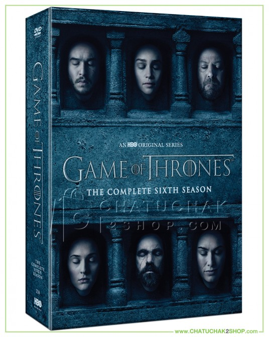 Game of Thrones: The Complete 6th Season DVD Series (5 discs)