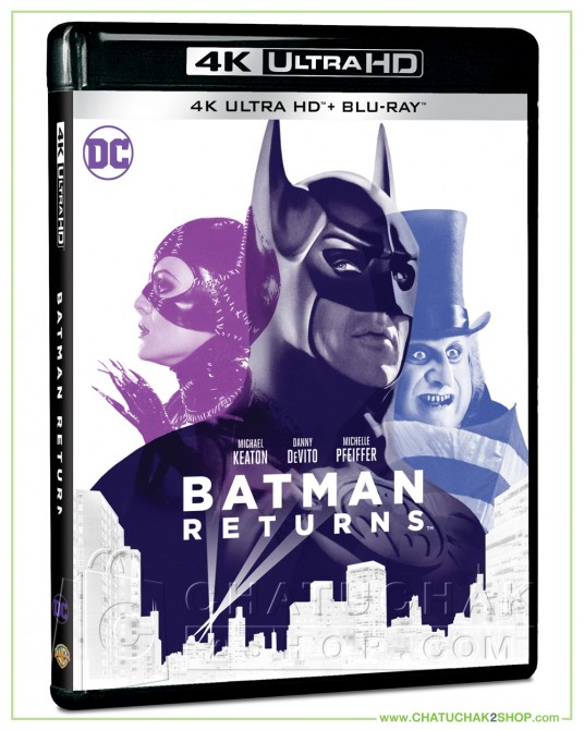 Batman Returns (1992) 4K Ultra HD includes Blu-ray 2D