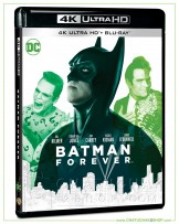 Batman Forever (1995) 4K Ultra HD includes Blu-ray 2D
