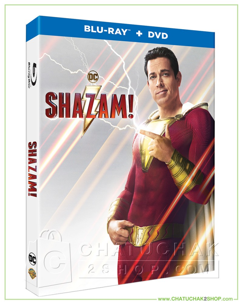 Shazam Blu Ray: Shazam! Blu-ray Combo Set (Bluray & DVD