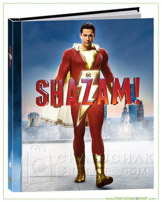 Shazam! Blu-ray Digibook Includes 3D and 2D (Free Postcard)