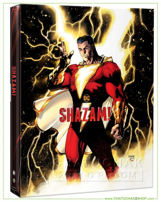 Shazam! 4K Ultra HD Steelbook includes Blu-ray 2D (Free Postcard)