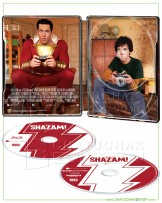 Shazam! 4K Ultra HD Steelbook includes Blu-ray 2D (Free Postcard)