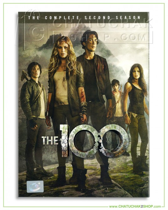 The 100 The Complete 2nd Season DVD Series (4 discs)