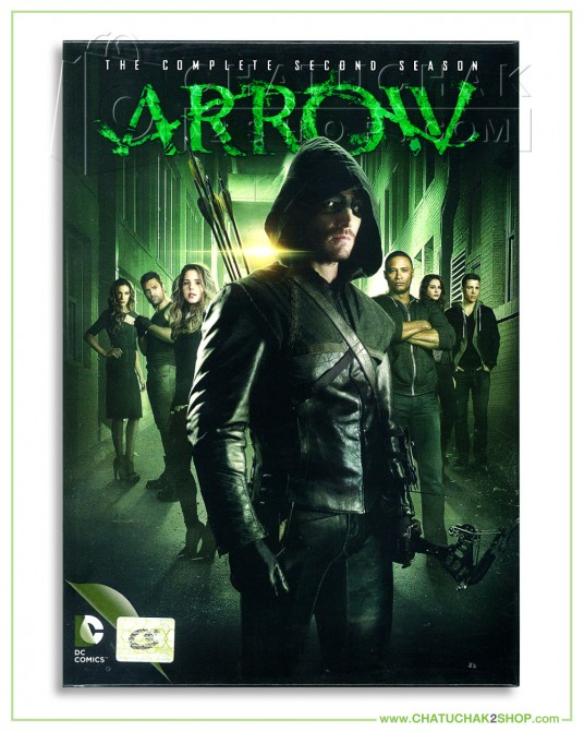 Arrow : The Complete 2nd Season DVD Series (5 discs)