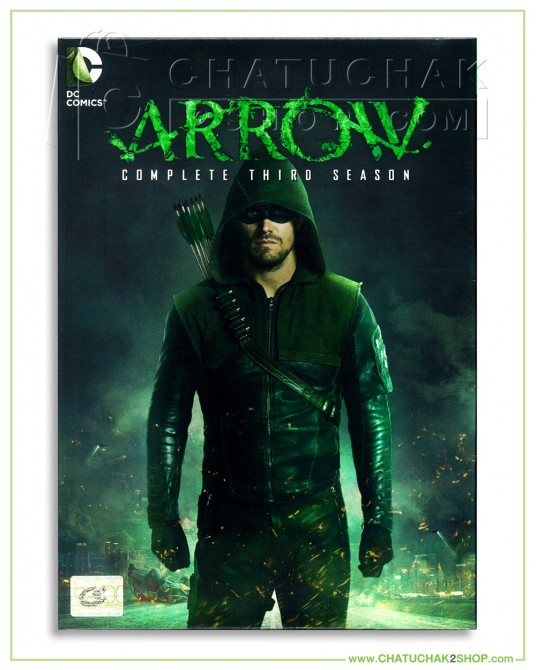 Arrow : The Complete 3rd Season DVD Series (5 discs)