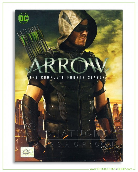 Arrow : The Complete 4th Season DVD Series (5 discs)