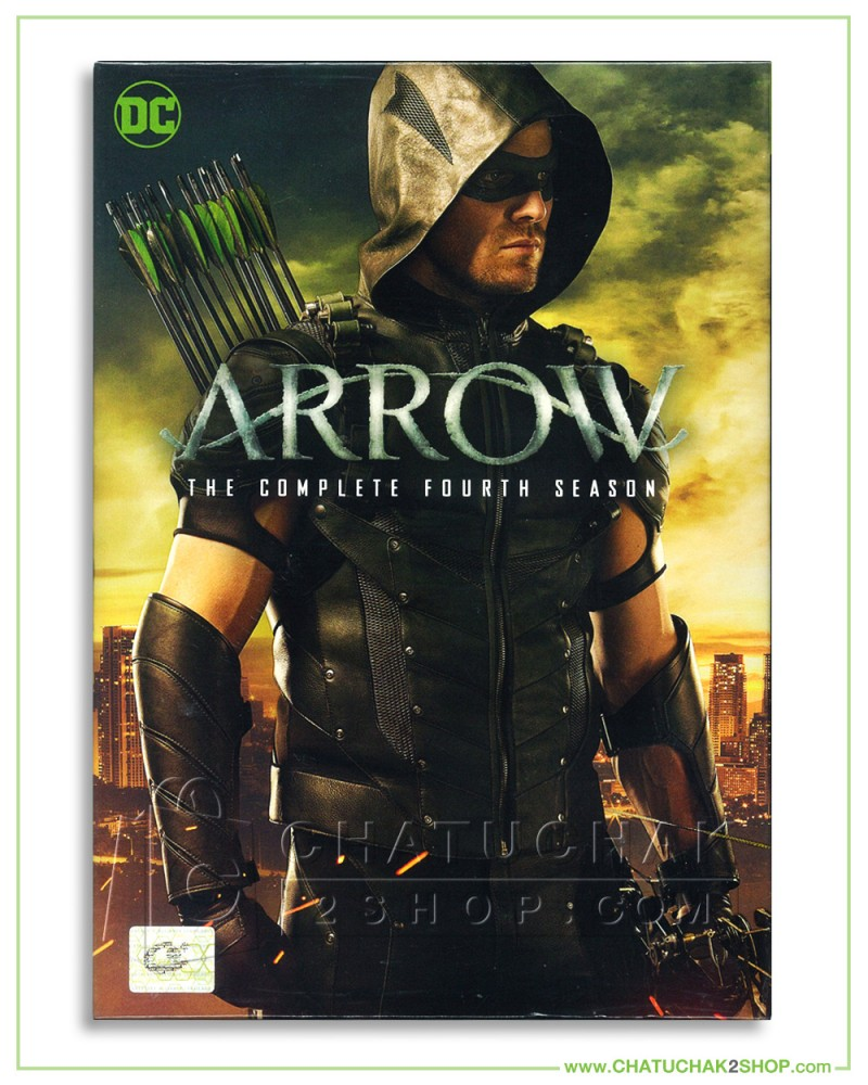 Arrow : The Complete 4th Season DVD Series (5 discs)