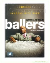 Ballers : The Complete 2nd Season DVD Series (2 discs)