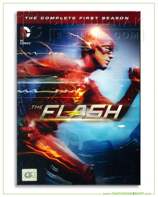 The Flash : The Complete 1st Season DVD Series (5 discs)