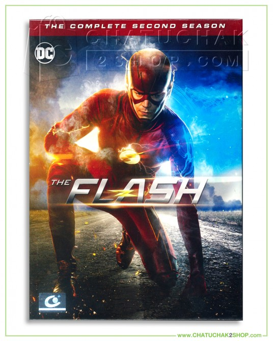 The Flash : The Complete 2nd Season DVD Series (6 discs)