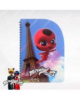 Shaped Notebook A5 - Miraculous Ladybug