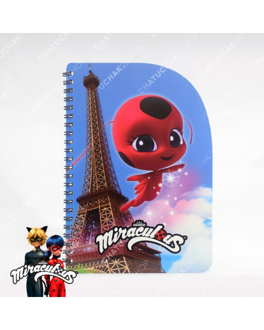 Shaped Notebook A5 - Miraculous Ladybug