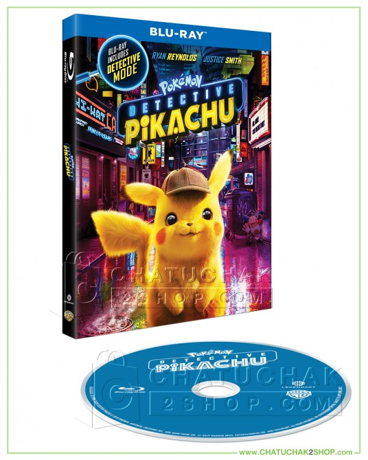Pokémon Detective Pikachu Bluray