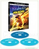 Pokémon Detective Pikachu 4K Ultra HD includes Blu-ray 3D & 2D