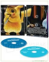 Pokémon Detective Pikachu 4K Ultra HD Steelbook includes Blu-ray 2D