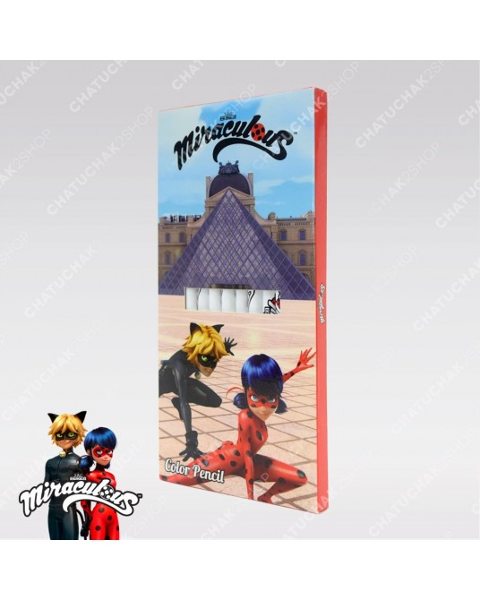 Color Pencil Set - Miraculous Ladybug