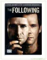 The Following : The Complete 2nd Season DVD Series (4 discs)