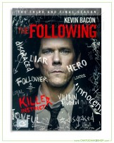 The Following : The Complete 3rd Season DVD Series (4 discs)