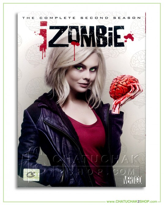 I Zombie : The Complete 2nd Season DVD Series (4 discs)
