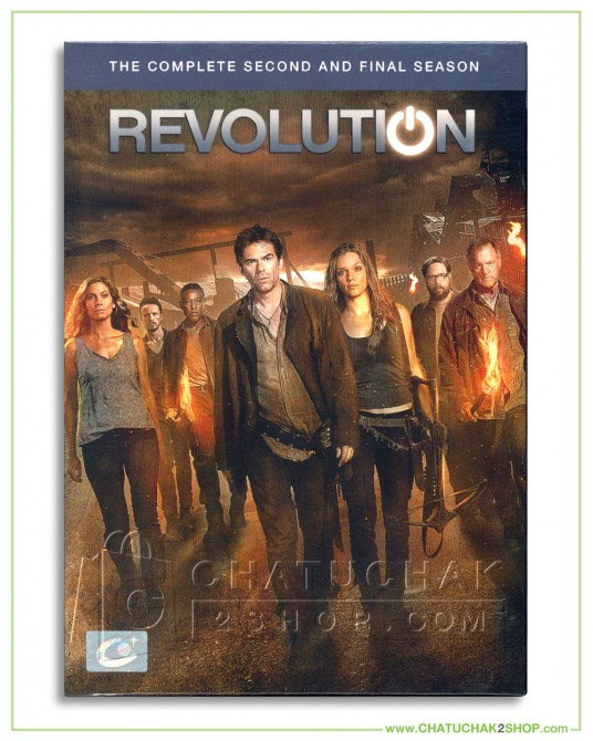 Revolution : The Complete 2nd Season DVD Series (5 discs)
