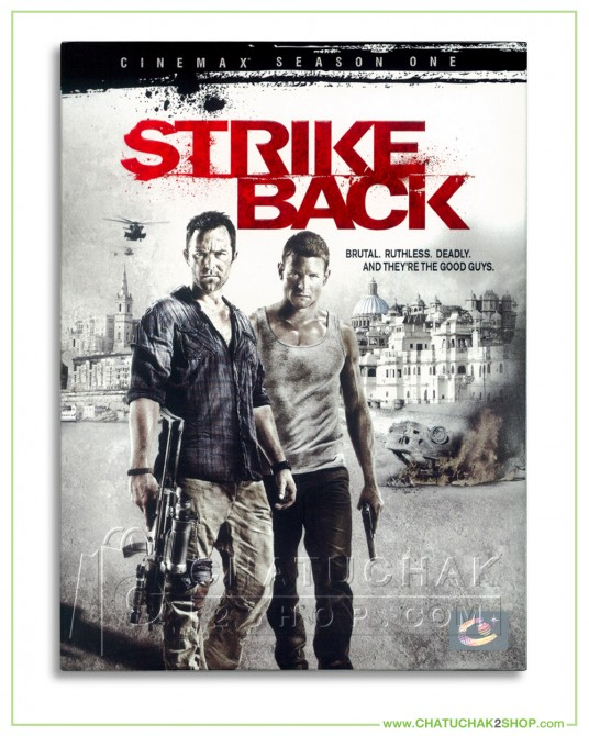 Strike back : Cinemax Season 1 DVD Series (4 discs)