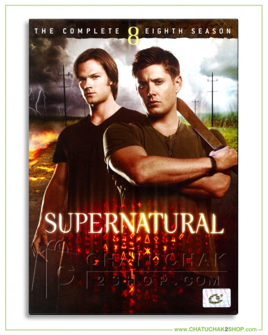 Supernatural: The Complete 8th Season DVD Series (6 discs)
