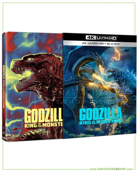 Godzilla 2 : King of the Monsters - 4K Ultra HD Steelbook includes Blu-ray 2D (Free Post Card)