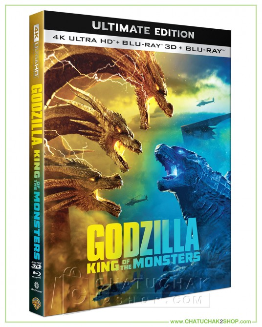Pre-order : Godzilla 2 : King of the Monsters - 4K Ultra HD includes Blu-ray 3D & 2D (Free Post Card)