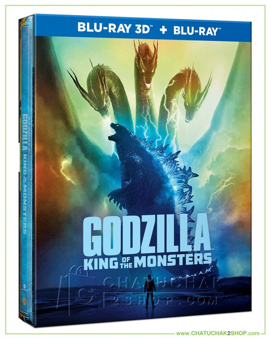 Pre-order : Godzilla 2 : King of the Monsters Blu-ray Steelbook Includes 3D and 2D