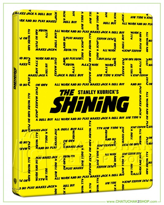 The Shining 4K Ultra HD Steelbook includes Blu-ray 2D