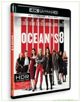 Ocean's 8 4K Ultra HD includes Blu-ray 2D