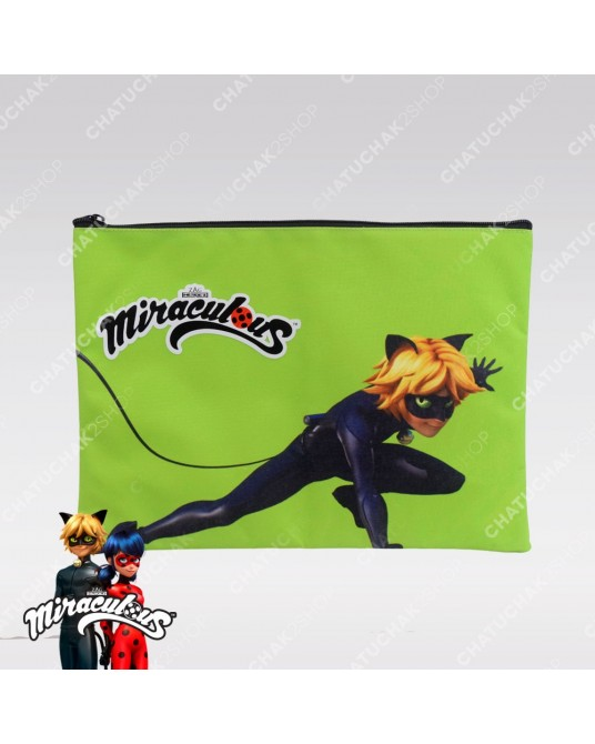 Pencil Bag (Green) - Miraculous Ladybug