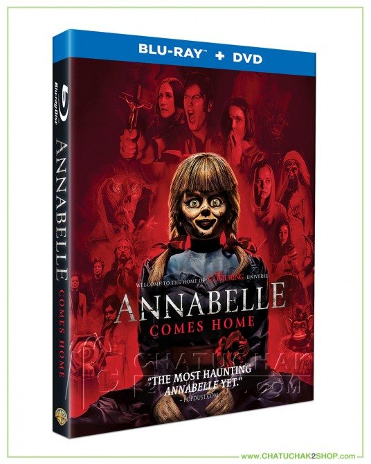 Annabelle Comes Home Blu-ray Combo Set (Bluray & DVD)