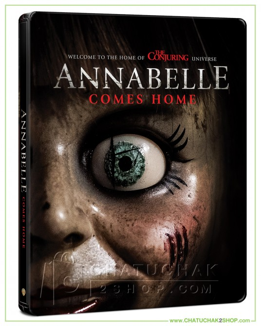 Pre-order : Annabelle Comes Home Blu-ray Steelbook