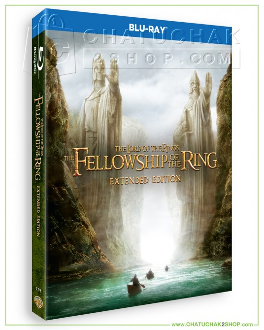 The Lord of the Rings: The Fellowship of the Ring (Extended Edition) Bluray 2 discs
