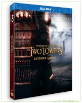 The Lord of the Rings: The Two Towers (Extended Edition) Bluray 2 discs