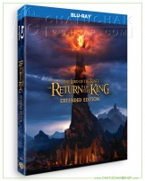 The Lord of the Rings: The Return of the King (Extended Edition) Bluray 2 discs