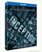 Inception Bluray + Bluray Special Features