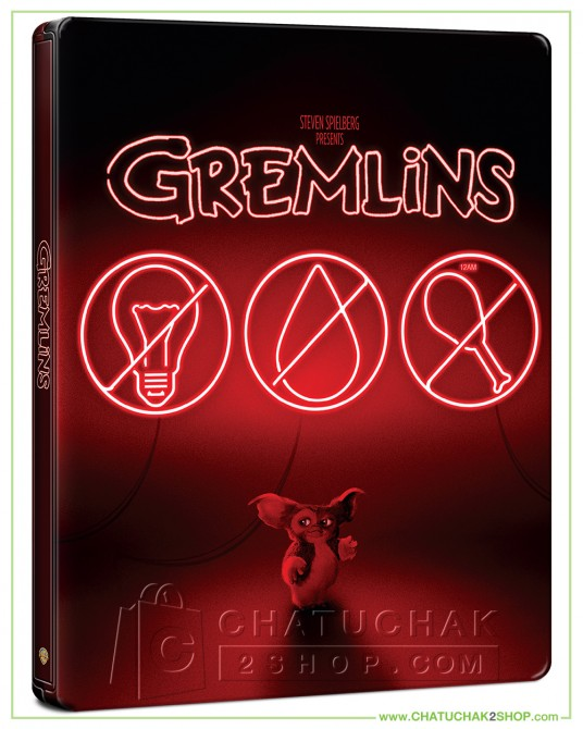 Gremlins 4K Ultra HD Steelbook includes Blu-ray 2D