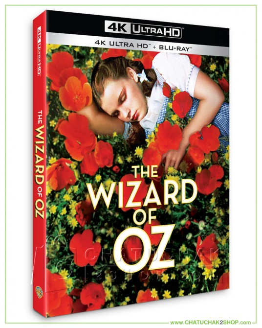 Pre-order : The Wizard of Oz (1939) 4K Ultra HD includes Blu-ray 2D