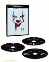 It Chapter Two 4K UltraHD + Bluray + Bluray Special Features (Free Postcard)