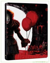 It Chapter Two 4K UltraHD Steelbook + Bluray + Bluray Special Features (Free Postcard)