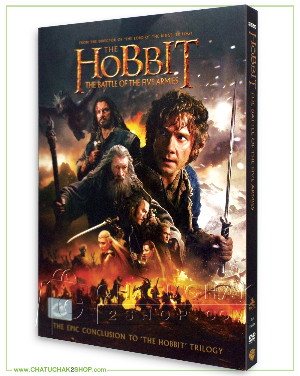The Hobbit The Battle Of The Five Armies 2014 Dvd