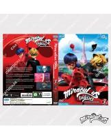 DVD Miraculous Lady Bug Volume 3
