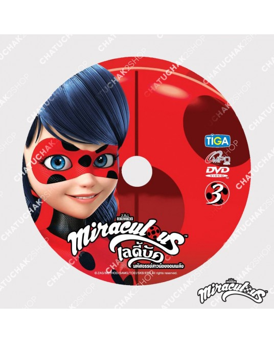 DVD Miraculous Lady Bug Volume 3