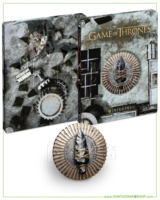 Game of Thrones: The Final Season 4K Ultra HD Steelbook + Blu-ray + Photobook