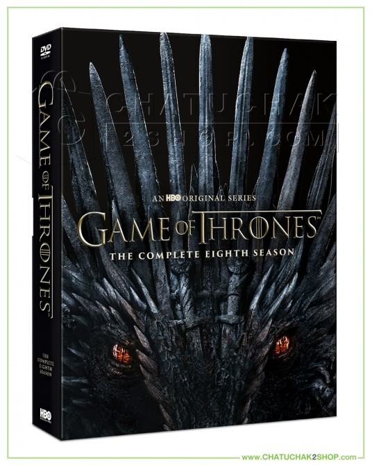Game of Thrones: The Final Season DVD Series (4 discs) + Photobook