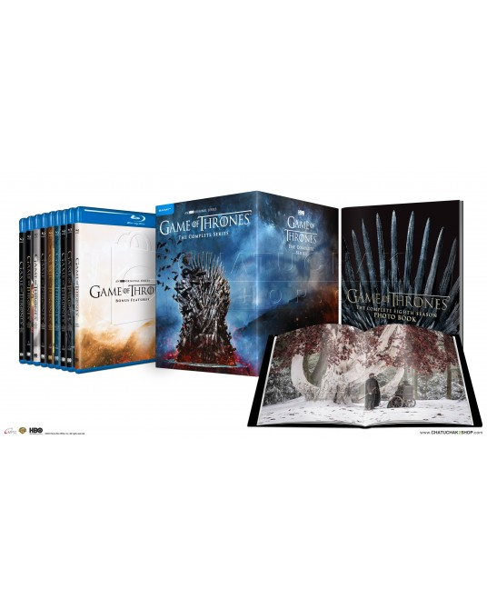 Game of Thrones: The Complete Series (1-8) Blu-ray Boxset